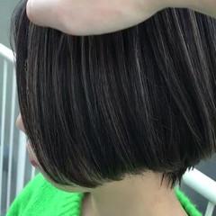 外国人風 透明感 ストリート ボブ ヘアスタイルや髪型の写真・画像