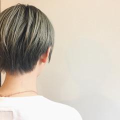 ストリート ハイトーン ショート 外国人風 ヘアスタイルや髪型の写真・画像