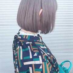 ストリート ホワイトシルバー シルバー シルバーアッシュ ヘアスタイルや髪型の写真・画像