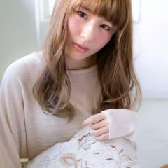 大人かわいい モテ髪 ゆるふわ ナチュラル ヘアスタイルや髪型の写真・画像