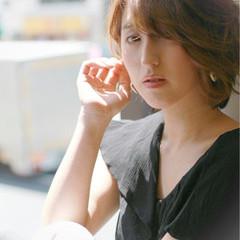 コンサバ 大人かわいい 簡単 ショート ヘアスタイルや髪型の写真・画像