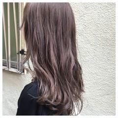 アッシュ 外国人風 アッシュグレージュ ストリート ヘアスタイルや髪型の写真・画像