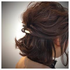 大人かわいい モテ髪 結婚式 愛され ヘアスタイルや髪型の写真・画像