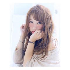 大人女子 こなれ感 大人かわいい ロング ヘアスタイルや髪型の写真・画像