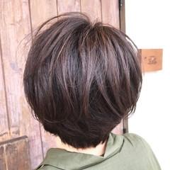 ショート オフィス ナチュラル スポーツ ヘアスタイルや髪型の写真・画像