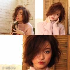 ゆるふわ ベース型 ナチュラル フェミニン ヘアスタイルや髪型の写真・画像