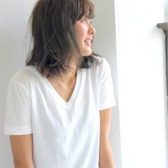外国人風 アッシュ ガーリー ボブ ヘアスタイルや髪型の写真・画像