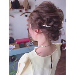デート 上品 結婚式 女子会 ヘアスタイルや髪型の写真・画像
