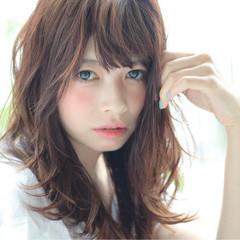艶髪 ナチュラル 透明感 ウェットヘア ヘアスタイルや髪型の写真・画像