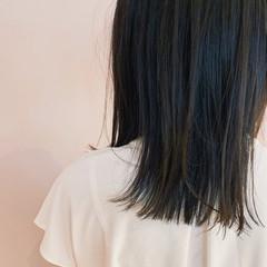 大人かわいい 暗髪 外ハネボブ 外ハネ ヘアスタイルや髪型の写真・画像