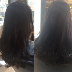 暗髪 ゆるふわ 外国人風 ガーリー ヘアスタイルや髪型の写真・画像