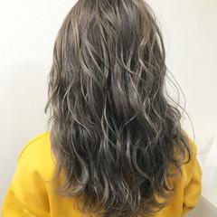 デート ハイライト 冬 モード ヘアスタイルや髪型の写真・画像