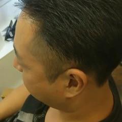 フェードカット ショート 刈り上げショート メンズヘア ヘアスタイルや髪型の写真・画像