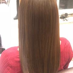 ナチュラル 縮毛矯正 大人ロング ロング ヘアスタイルや髪型の写真・画像