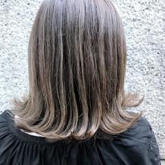 ガーリー ハイライト ブルージュ グラデーションカラー ヘアスタイルや髪型の写真・画像