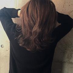 ウェーブ 外国人風 ストリート ウェットヘア ヘアスタイルや髪型の写真・画像