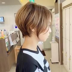 ハイトーン ハンサムショート ショート ショートヘア ヘアスタイルや髪型の写真・画像