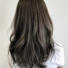 ヘアアレンジ 外国人風カラー ナチュラル オフィス ヘアスタイルや髪型の写真・画像