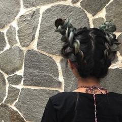 個性的 ストリート ヘアアレンジ 透明感 ヘアスタイルや髪型の写真・画像