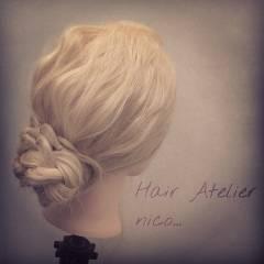 ヘアアレンジ ロング 簡単ヘアアレンジ ナチュラル ヘアスタイルや髪型の写真・画像