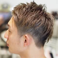 ハイトーン ショート 坊主 ウェットヘア ヘアスタイルや髪型の写真・画像