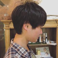 モテ髪 ショート ボーイッシュ ナチュラル ヘアスタイルや髪型の写真・画像