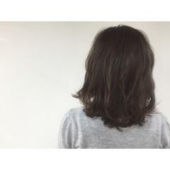 ヘアアレンジ ストリート 外国人風 ミディアム ヘアスタイルや髪型の写真・画像