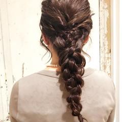 女子会 ヘアアレンジ 大人女子 ナチュラル ヘアスタイルや髪型の写真・画像