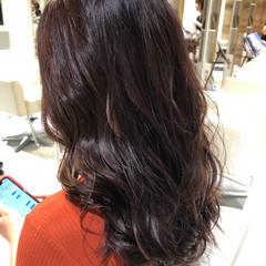 ラベンダーピンク ラベンダー ピンクラベンダー ロング ヘアスタイルや髪型の写真・画像