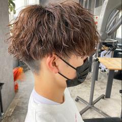 ストリート メンズヘア メンズパーマ パーマ ヘアスタイルや髪型の写真・画像