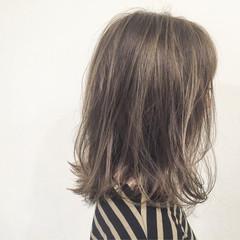 マルサラ ストリート ボブ ウェットヘア ヘアスタイルや髪型の写真・画像