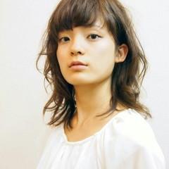 アッシュ 外国人風 ハイライト モード ヘアスタイルや髪型の写真・画像