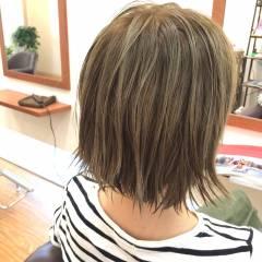 外国人風 ウェットヘア ショート アッシュ ヘアスタイルや髪型の写真・画像