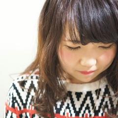 グラデーションカラー ガーリー ピンク フェミニン ヘアスタイルや髪型の写真・画像