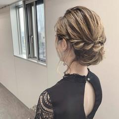 ゆるナチュラル ボブ ナチュラル ヘアセット ヘアスタイルや髪型の写真・画像