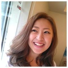 前髪あり 外国人風 ナチュラル かき上げ前髪 ヘアスタイルや髪型の写真・画像