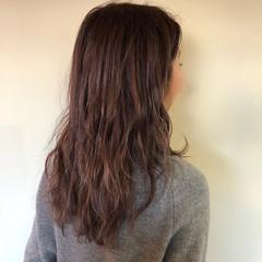 ラベンダーピンク ピンク ピンクアッシュ ガーリー ヘアスタイルや髪型の写真・画像