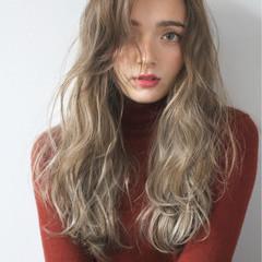 外国人風カラー ストリート 大人かわいい ナチュラル ヘアスタイルや髪型の写真・画像