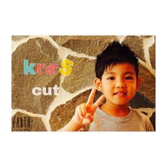 子供 ボーイッシュ 刈り上げ ガーリー ヘアスタイルや髪型の写真・画像