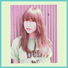 ゆるふわ ロング ガーリー 外国人風 ヘアスタイルや髪型の写真・画像
