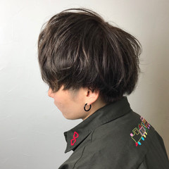 マッシュ モテ髪 メンズ ナチュラル ヘアスタイルや髪型の写真・画像