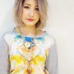 ダブルカラー ストリート 外国人風カラー ブリーチ ヘアスタイルや髪型の写真・画像