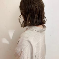 ボブ 大人かわいい アンニュイほつれヘア 外国人風 ヘアスタイルや髪型の写真・画像