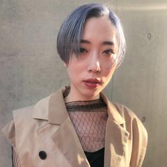 ショートヘア ハンサムショート 大人カジュアル ショート ヘアスタイルや髪型の写真・画像