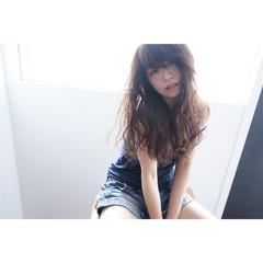 ロング おフェロ かわいい ナチュラル ヘアスタイルや髪型の写真・画像