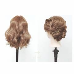 ストリート 簡単ヘアアレンジ 春 アップスタイル ヘアスタイルや髪型の写真・画像