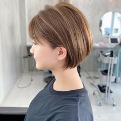 ベリーショート ショート 小顔ショート ショートボブ ヘアスタイルや髪型の写真・画像