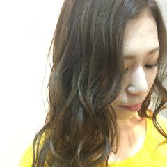 外国人風カラー モテ髪 大人かわいい ナチュラル ヘアスタイルや髪型の写真・画像