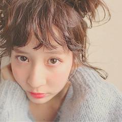 ショート 簡単ヘアアレンジ 外国人風 大人かわいい ヘアスタイルや髪型の写真・画像