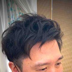 メンズパーマ メンズ ストリート ショート ヘアスタイルや髪型の写真・画像